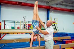 OK Gold Gymnastics Balance Beam